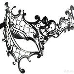 Metal Filigree Mask Occhialino
