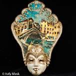 Venetian Masquerade Mask Salome Rialto