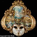 Venice Wall Art - Venetian Mask Salome 2