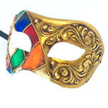 Venetian Masquerade Mask Colombina Ibiz