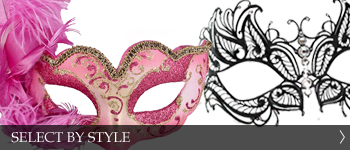 Select Masquerade Mask By Style