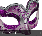 Click here to see our selection of purple eye masks (Colombina)