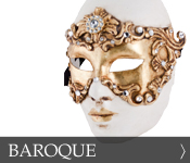 Decorative Venetian Masquerade Mask Baroque