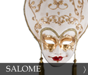 Decorative Venetian Masquerade Mask Salome